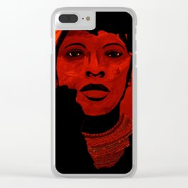 Mother Africa Clear iPhone Case