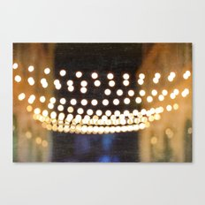 Floating Bokeh Canvas Print