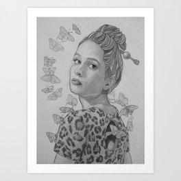 """Papillon"" Art Print"