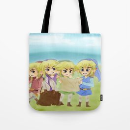 Zelda- 4 swords Tote Bag