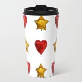 Hearts and stars Travel Mug