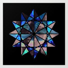 kaleidos-core Art Print