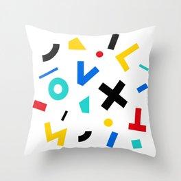 color signal Throw Pillow