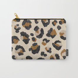 Leopard Print – Neutral Gold Light Palette Carry-All Pouch