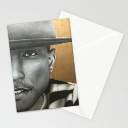 'Pharrell In Gold' Stationery Cards