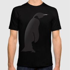 Penguin Mens Fitted Tee MEDIUM Black