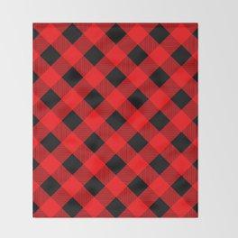 Buffalo Plaid Scottish Lumberjack Throw Blanket