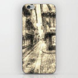 The Shambles York Vintage iPhone Skin
