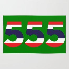 555  Thai flag Rug