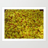 Rubber Ducky, You're the One! Art Print