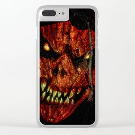 art background bad costume Clear iPhone Case