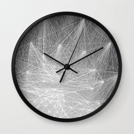 geometry heartbreak Wall Clock