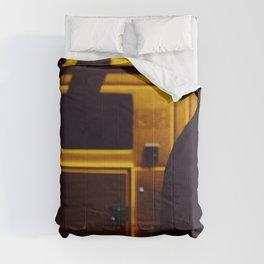 Yellow van Australian man Comforters