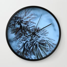 Nature in the French Alps 4 Wall Clock