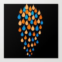 baloon Canvas Prints featuring Baloon 2 by kartalpaf