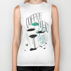 Us And Them: Coffeeholic Anonymous. Biker Tank