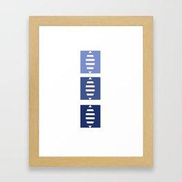 Ratlles Framed Art Print