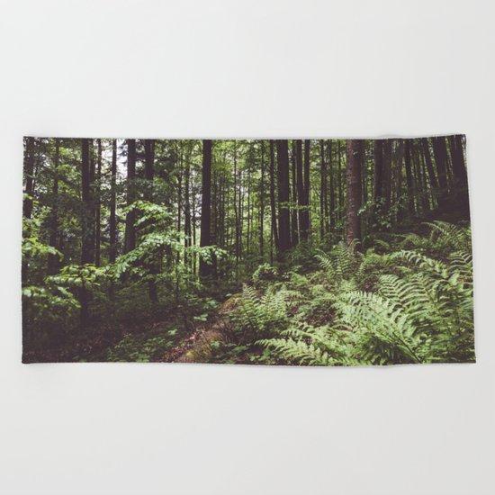 Woodland Beach Towel
