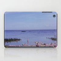 finland iPad Cases featuring Gulf of Finland by beefscherry