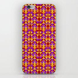 aztec pattern, tribal background iPhone Skin