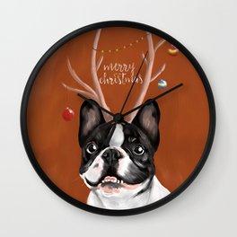 Beatriz : Christmas Wall Clock