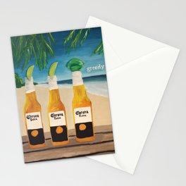Greedy - Corona Ad Painting Stationery Cards