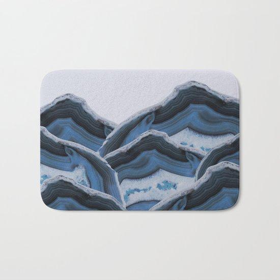 Agate Blue Mountains Bath Mat