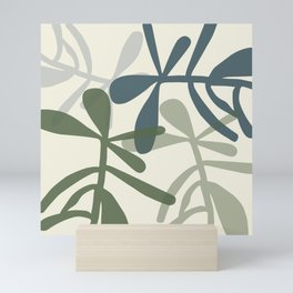 Sedum plant play Mini Art Print