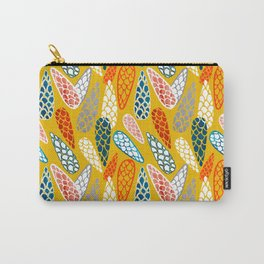 Colored Cone pattern Carry-All Pouch
