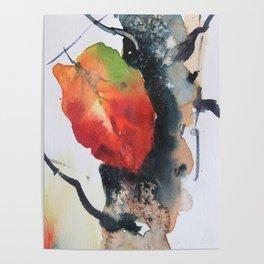 Autumn leaf 1 Poster