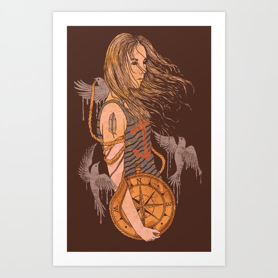 I'll Find You Art Print