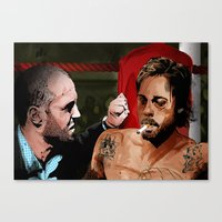 snatch Canvas Prints featuring Snatch by The Art Warriors
