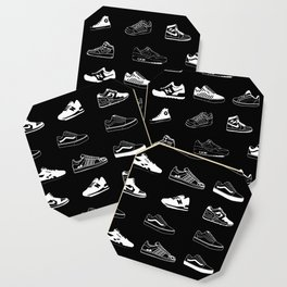Black Sneaker Coaster