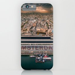 Amsterdam Station from Above iPhone Case