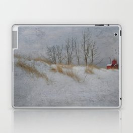 Winter Lighthouse Laptop & iPad Skin