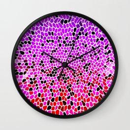 THINK LILAC CORAL Wall Clock