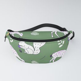 Wildlife - Happy Forest Animals Green Fanny Pack