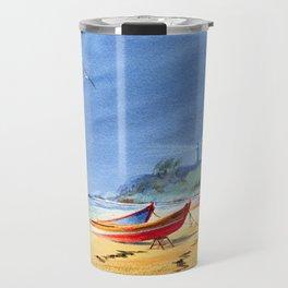 Puerto Rico Maunabo Beach Travel Mug