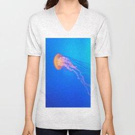 Jellyfish at Coney Island Unisex V-Neck