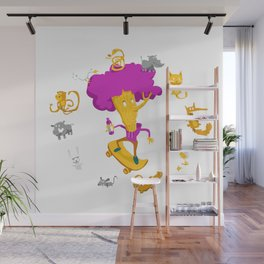 Flame Sauce WildChlid Wall Mural