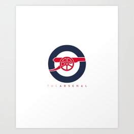 The Arsenal Art Print