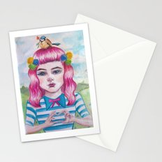 love song in my heart Stationery Cards