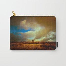 English landscape with lone tree, UK Carry-All Pouch