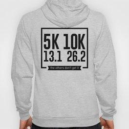 5K 10K 13.1 26.2 Runners Running Marathon Race Hoody
