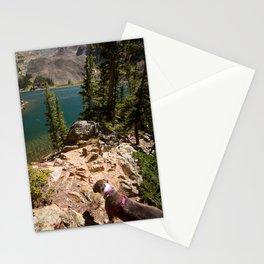 Glacier Lake Colorado- Lake Agnes Stationery Cards