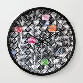 Twinkling Brella Wall Clock