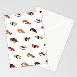 Pixelated Sushi Stationery Cards