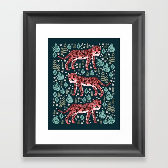 Safari Tiger by Andrea Lauren  by andrealaurendesign