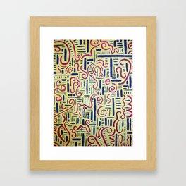 Male & Female Framed Art Print