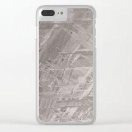 Macro Meteorite Clear iPhone Case